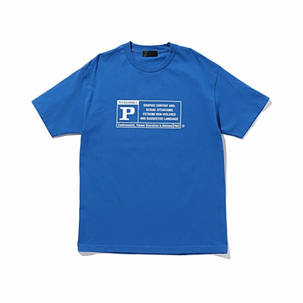 RATED P LOGO TEE S/S