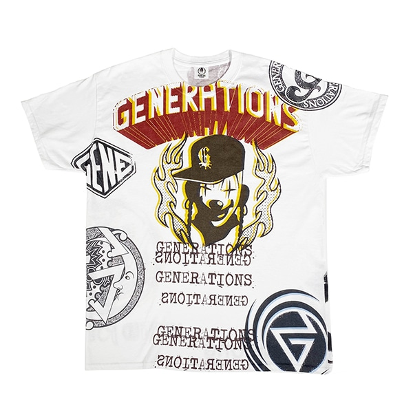 RISING SUN TO THE WORLD LIVE COSTUME Tee SS/GENERATIONS