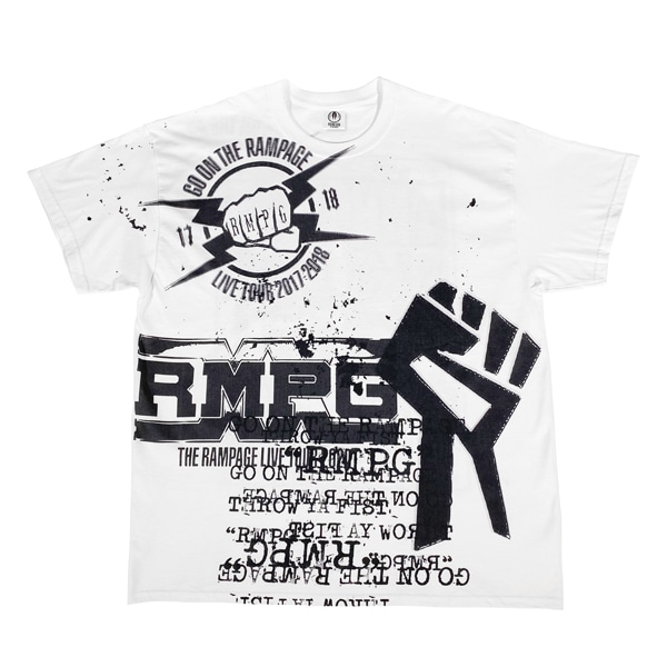 RISING SUN TO THE WORLD LIVE COSTUME Tee SS/THE RAMPAGE