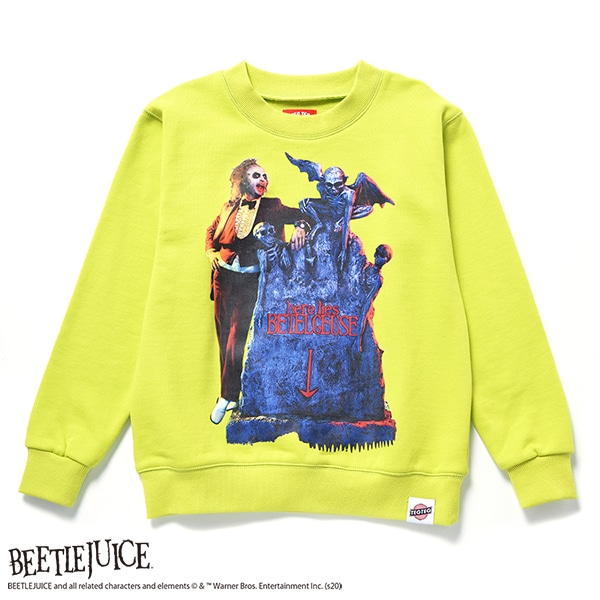 CREW NECK SWEAT BEETLEJUICE 01