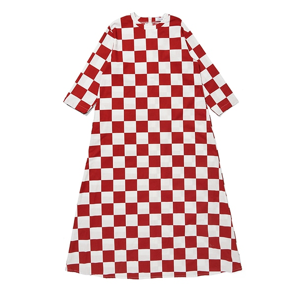BLOCK CHECKER VOLUME DRESS Adult