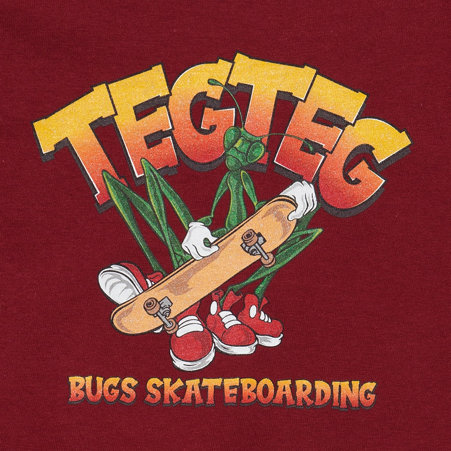BUGS SKATE BOARDING T SHIRT Adult 詳細画像 White 5