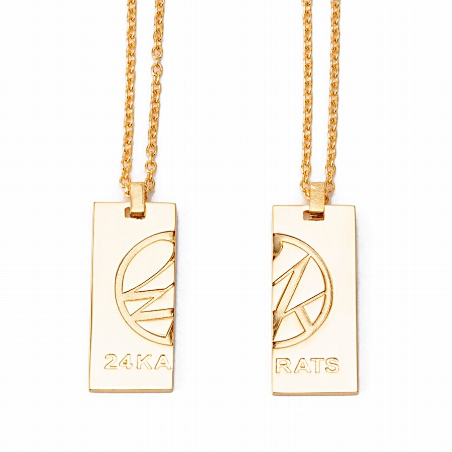 Pair Necklace 詳細画像 Gold 2