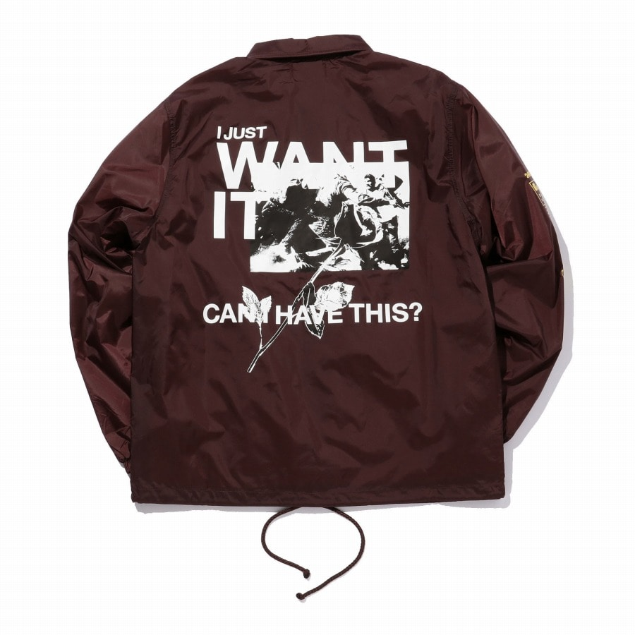 Want It Coach Jacket 詳細画像 Black 9