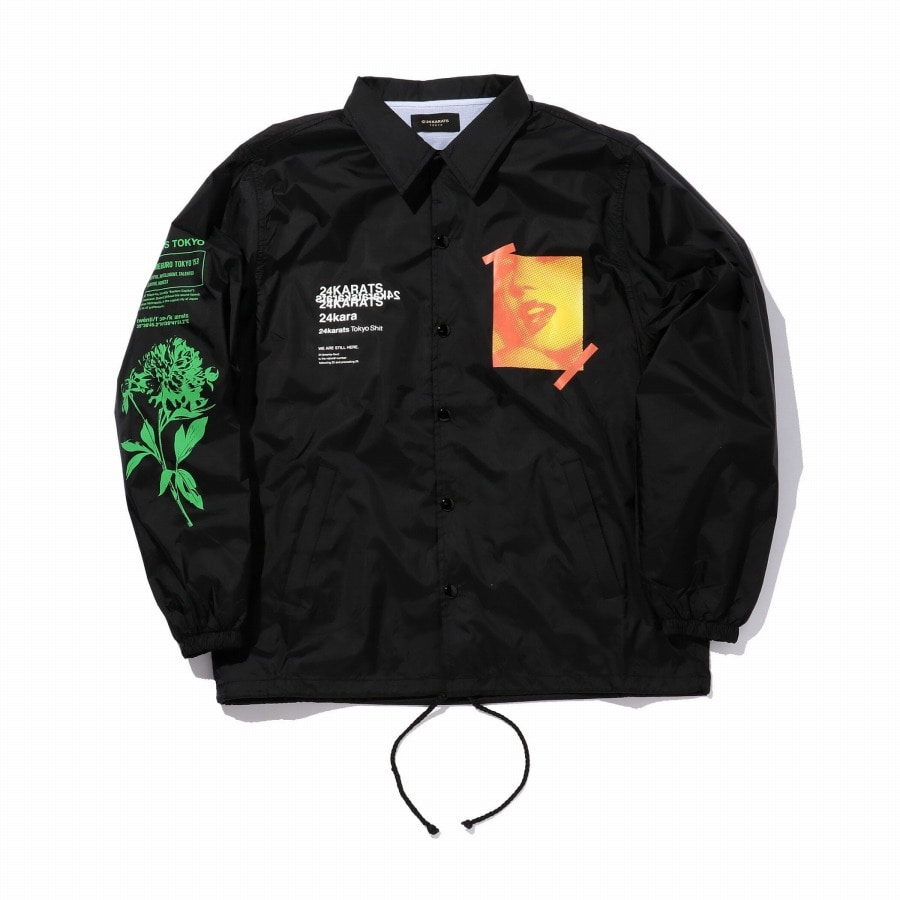 Want It Coach Jacket 詳細画像 Black 1