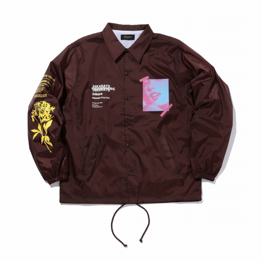 Want It Coach Jacket 詳細画像 Purple 1