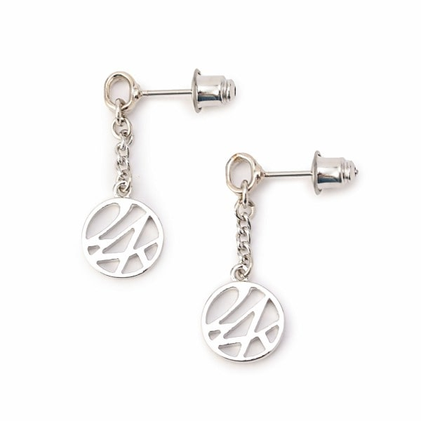 Circle Logo Earring