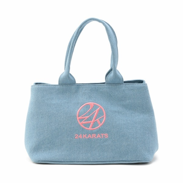 2Way Logo Embroidery Tote Bag