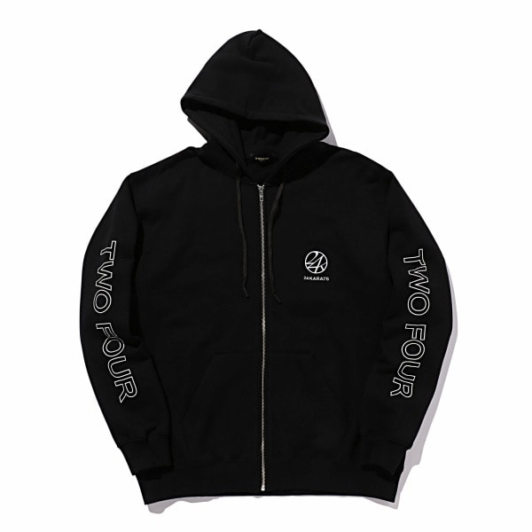 Two Four Basic Zip Hoodie 詳細画像
