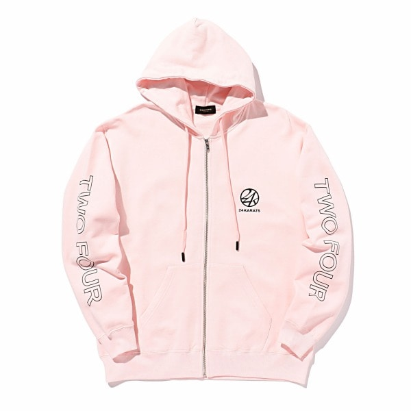 Two Four Basic Zip Hoodie