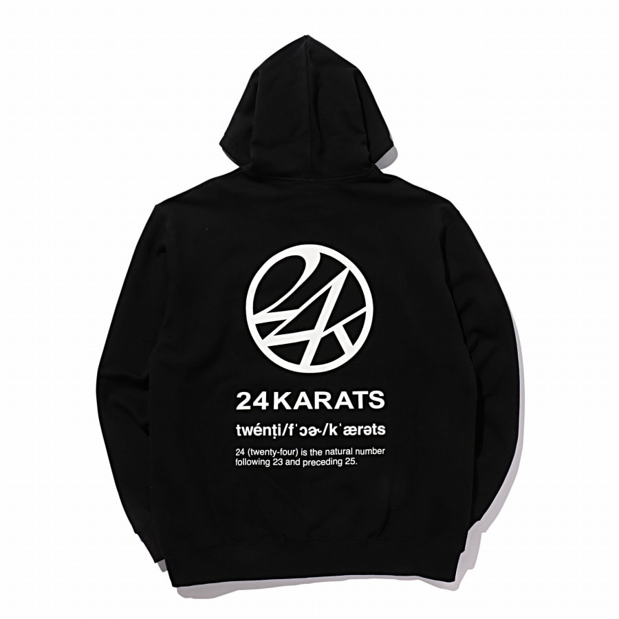 Two Four Basic Zip Hoodie 詳細画像 Black 8