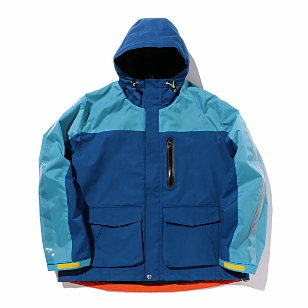 Aqua Mountain Parka