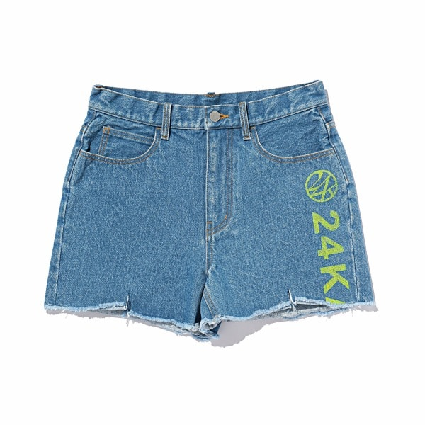 Hem Cut Off Denim Short Pants