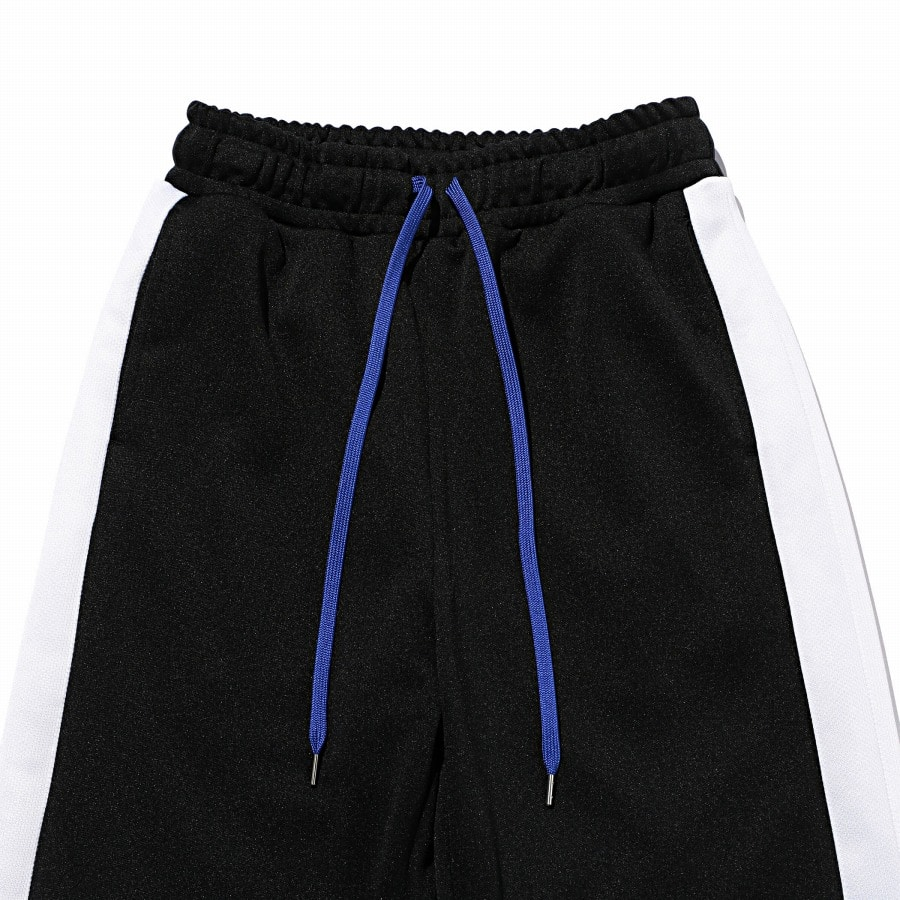 Smooth Wide Track Pants 詳細画像 Black 2