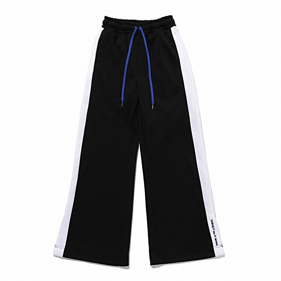 Smooth Wide Track Pants 詳細画像 Black 1