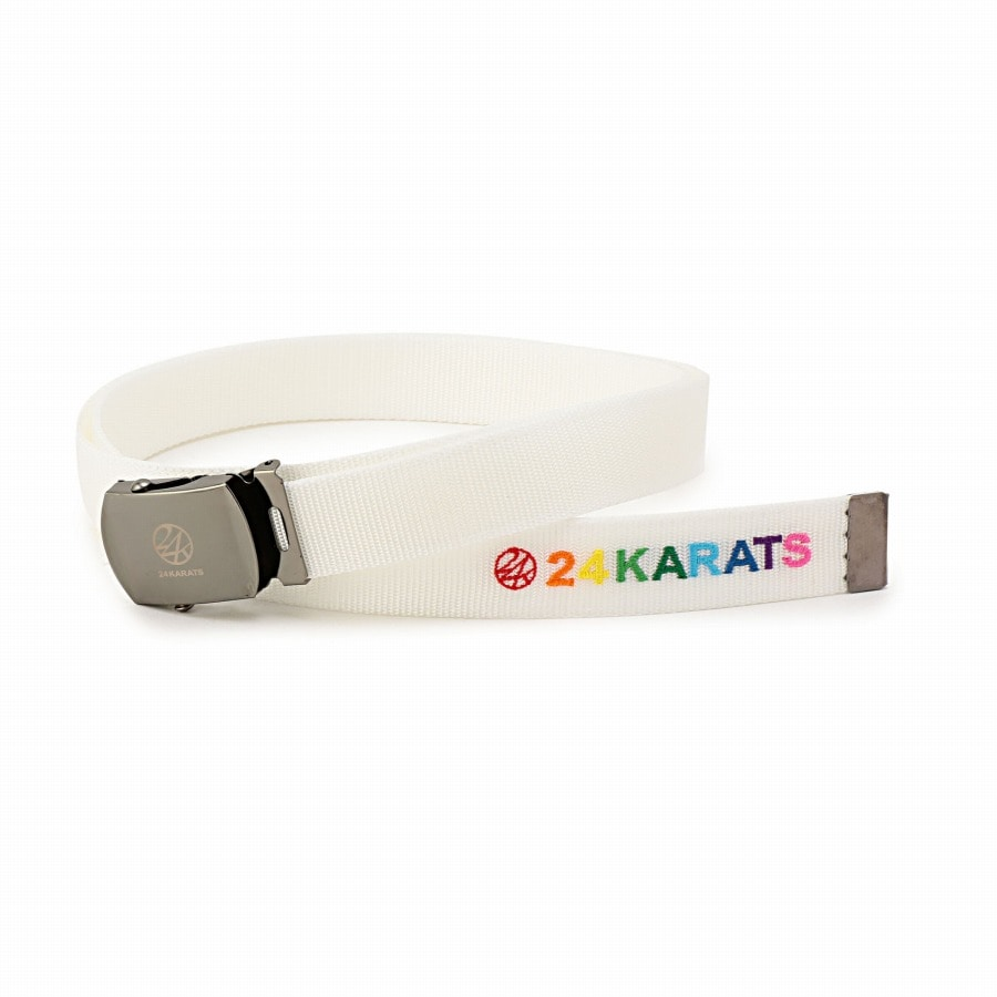 Colorful EMB Tape Belt 詳細画像 White 1