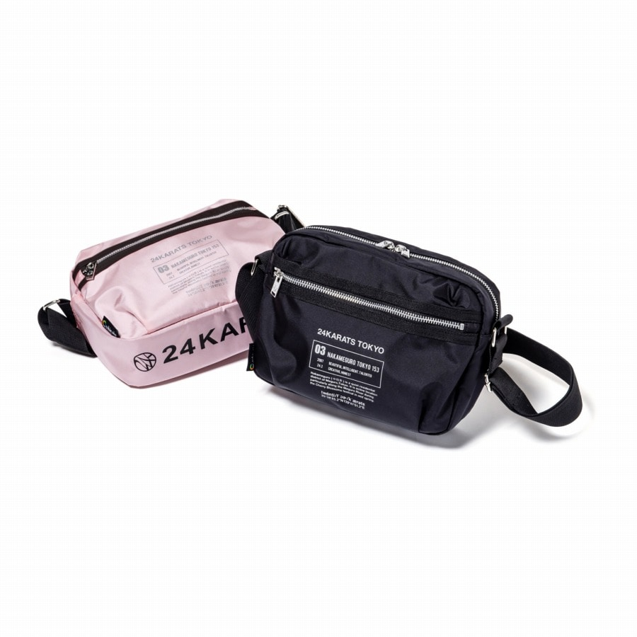 Reflector Print Shoulder Bag 詳細画像 Pink 10