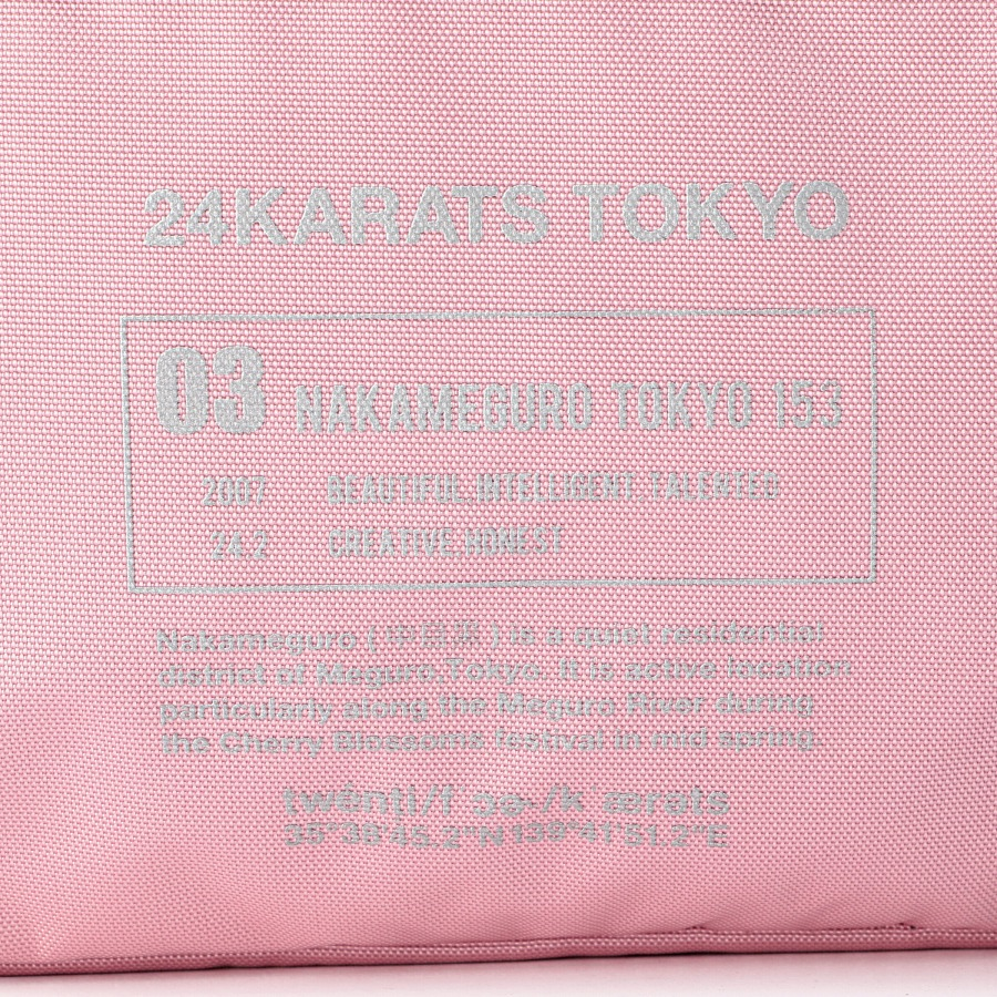 Reflector Print Shoulder Bag 詳細画像 Pink 7