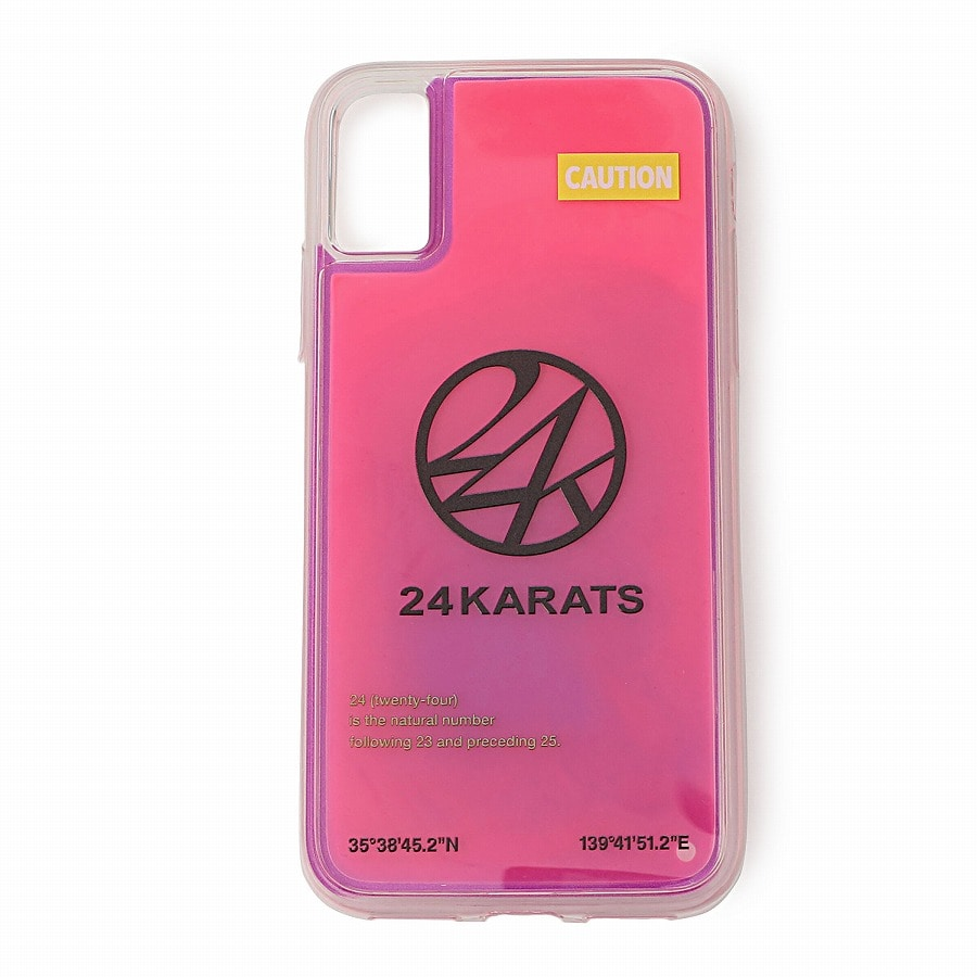 Neonsand iPhone Case X 詳細画像 Purple 1