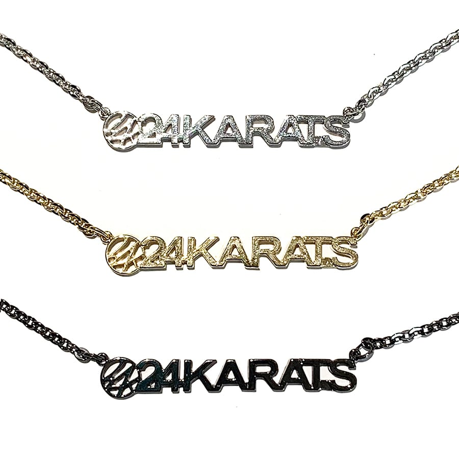 Standard Logo Necklace 詳細画像 Black 7