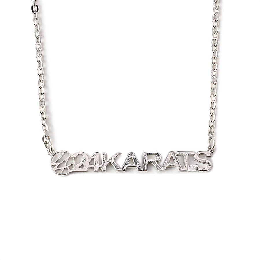 Standard Logo Necklace 詳細画像 Silver 1
