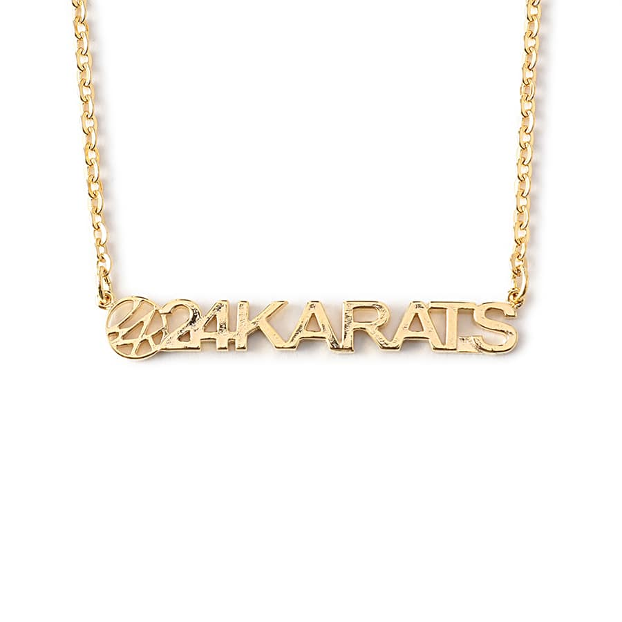 Standard Logo Necklace 詳細画像 Gold 1