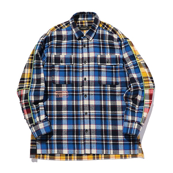 Multi Check Shirt LS