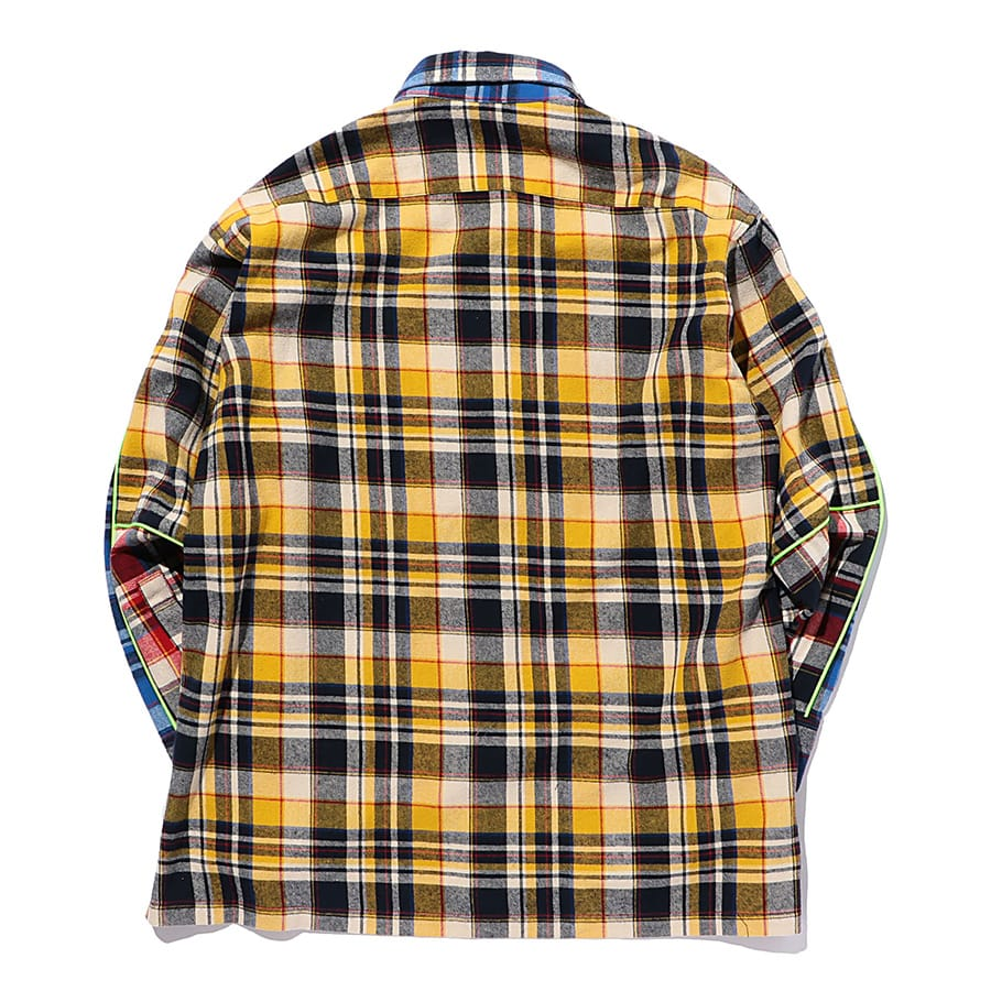 Multi Check Shirt LS 詳細画像 Blue 1