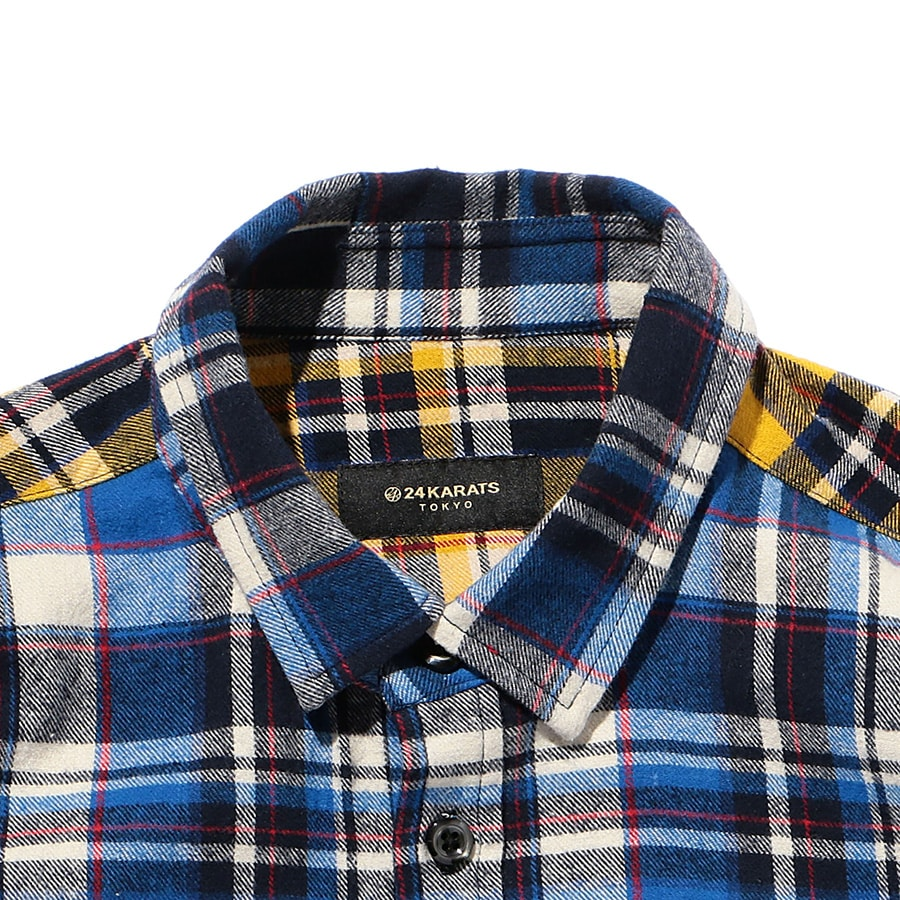 Multi Check Shirt LS 詳細画像 Blue 2