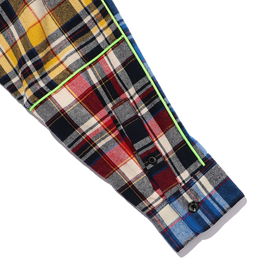 Multi Check Shirt LS 詳細画像 Blue 6