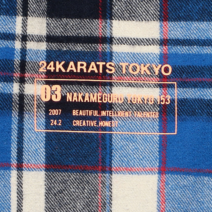 Multi Check Shirt LS 詳細画像 Blue 7