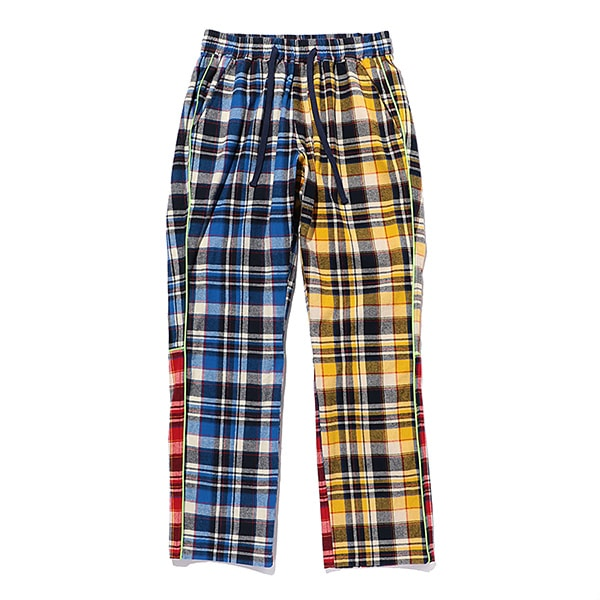 Multi Check Eazy Pants