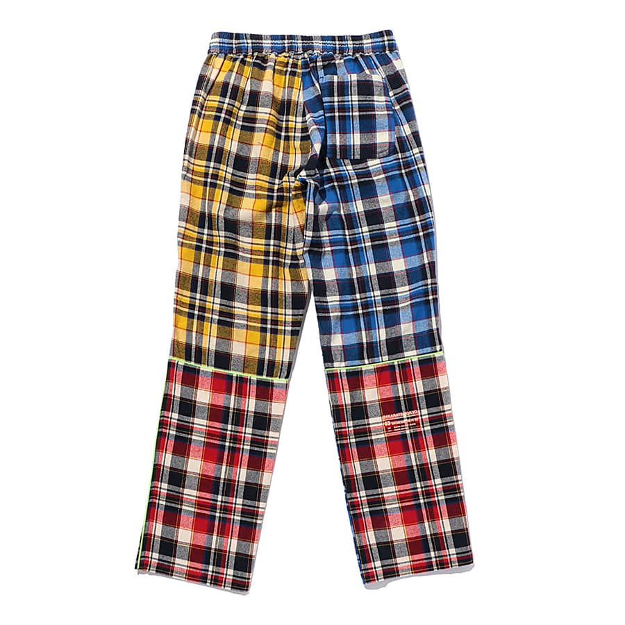 Multi Check Eazy Pants 詳細画像 Blue 1