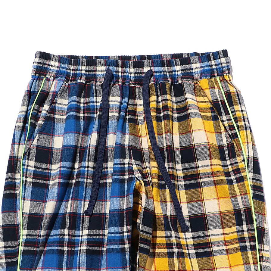 Multi Check Eazy Pants 詳細画像 Blue 2