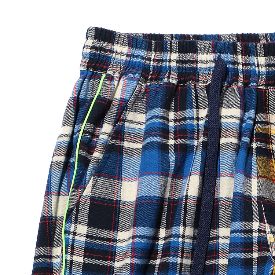 Multi Check Eazy Pants 詳細画像 Blue 3