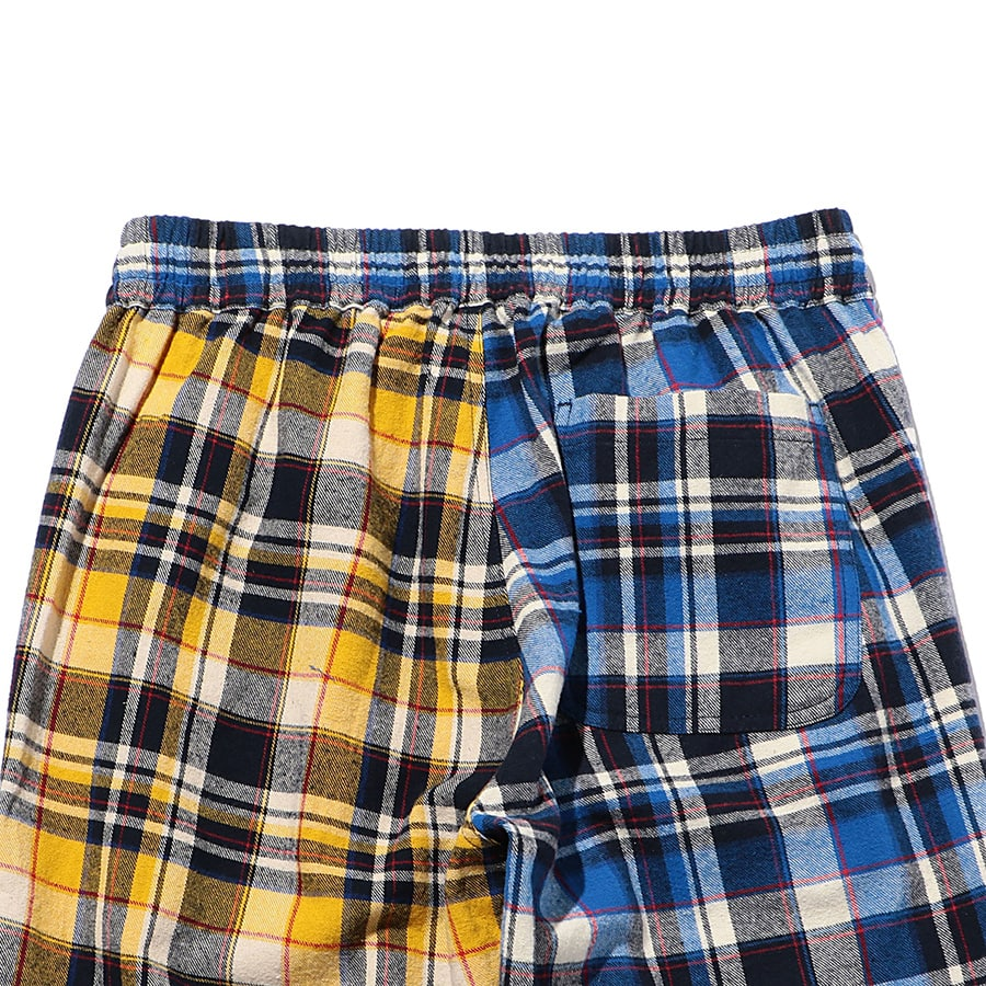 Multi Check Eazy Pants 詳細画像 Blue 4