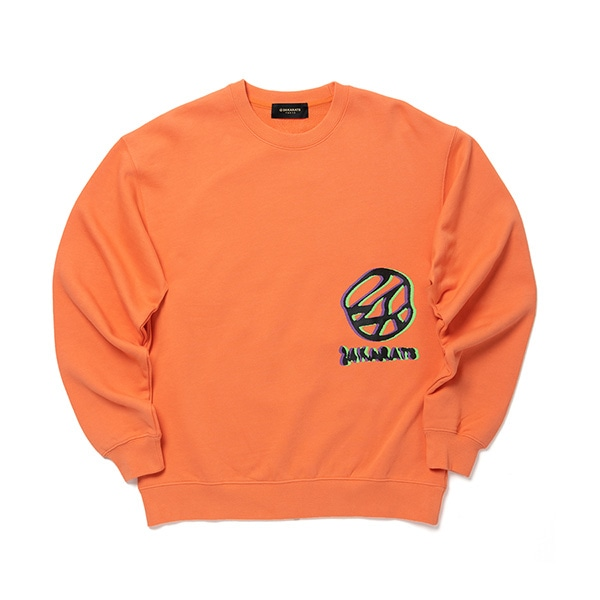 Distorted Logo Crew Sweat