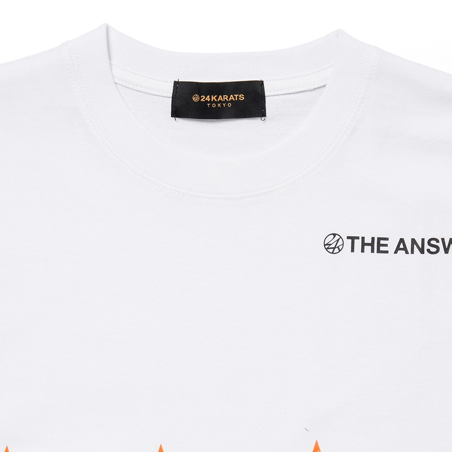 Answer Tee SS 詳細画像 White 3