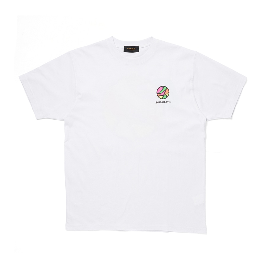 Stained Glass Tee SS 詳細画像 White 1