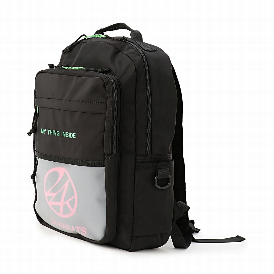 Clear Pocket Backpack 詳細画像 Black 1