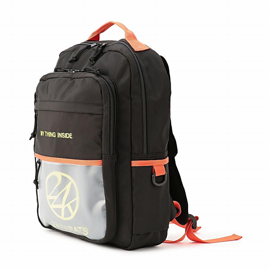 Clear Pocket Backpack 詳細画像 Orange 1