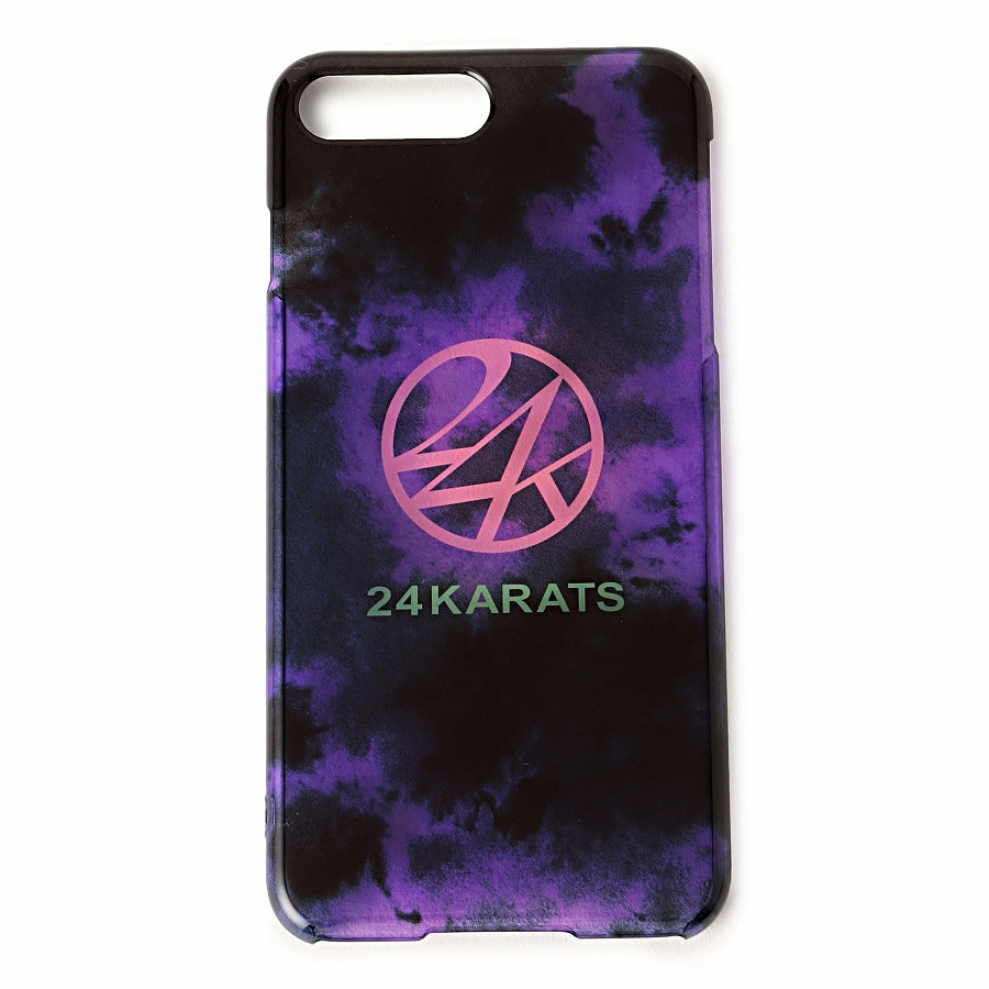 Tie Dye Print iPhone Case Plus 6/6s/7/8 詳細画像 Purple 1