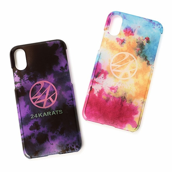 Tie Dye Print iPhone Case X/XS 詳細画像