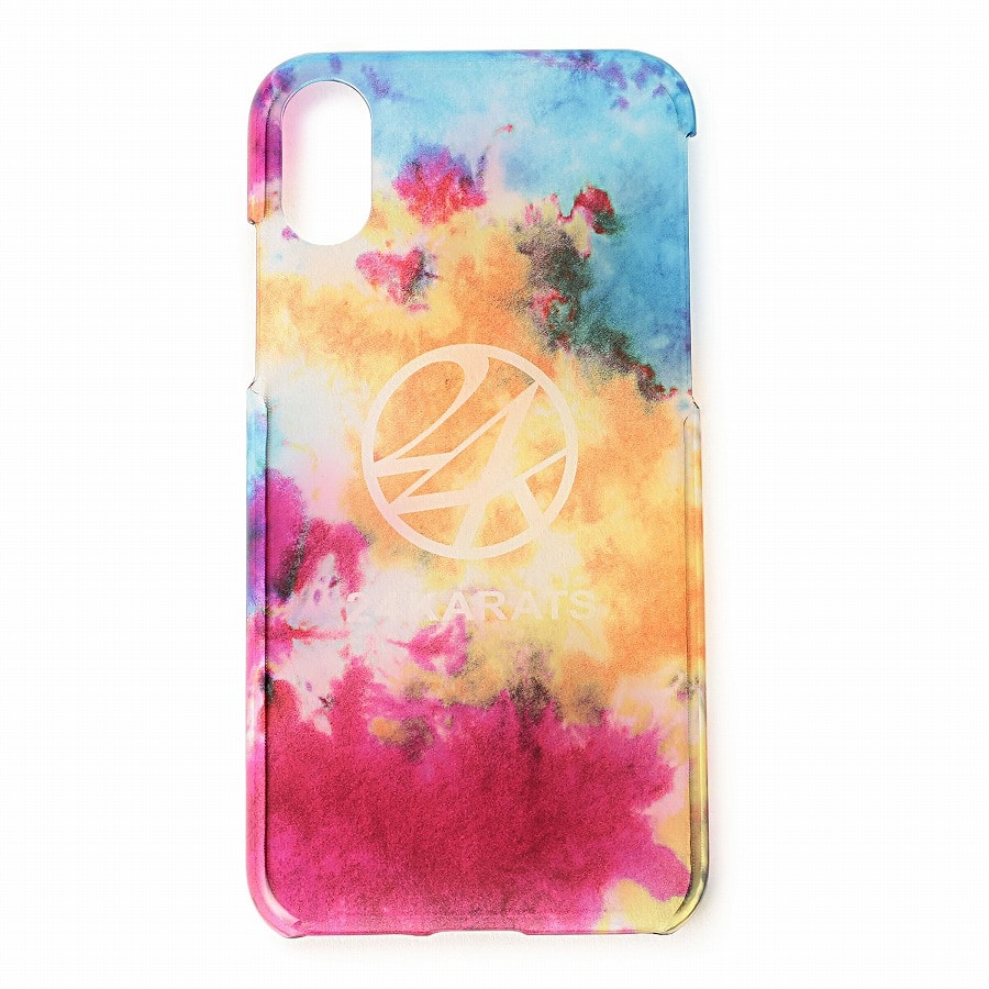 Tie Dye Print iPhone Case X/XS 詳細画像 Multi 1