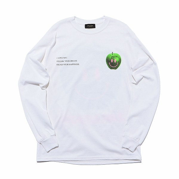 Apple Logo Tee LS 詳細画像
