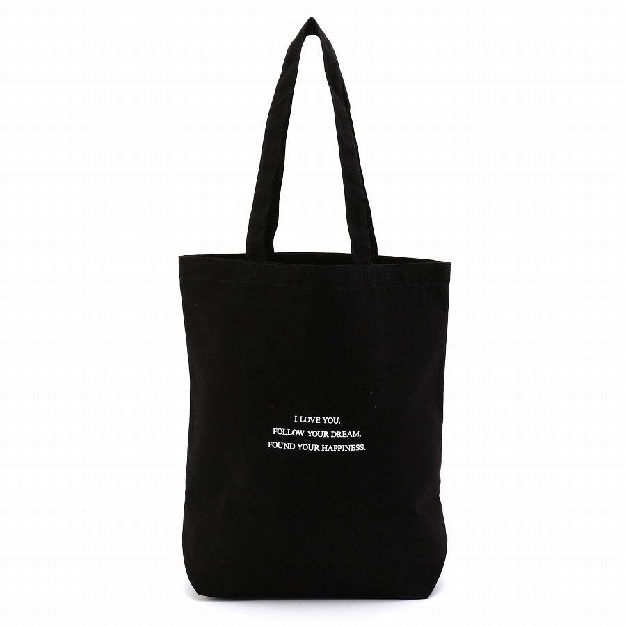 Apple Logo Tote Bag 詳細画像 Black 2