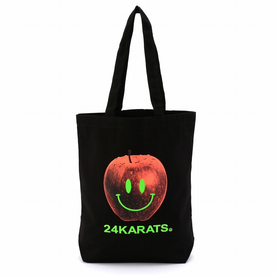 Apple Logo Tote Bag 詳細画像 Black 1