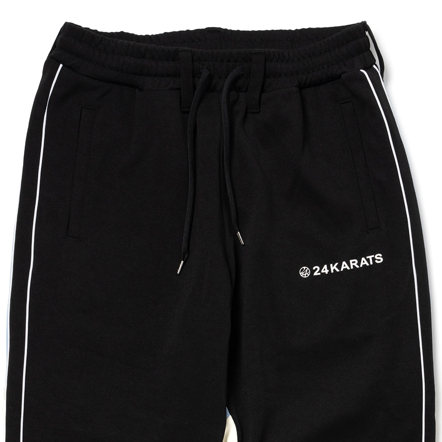 Two Faced Track Pants 詳細画像 Black 2