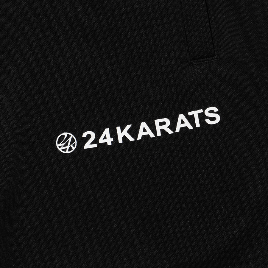 Two Faced Track Pants 詳細画像 Black 4