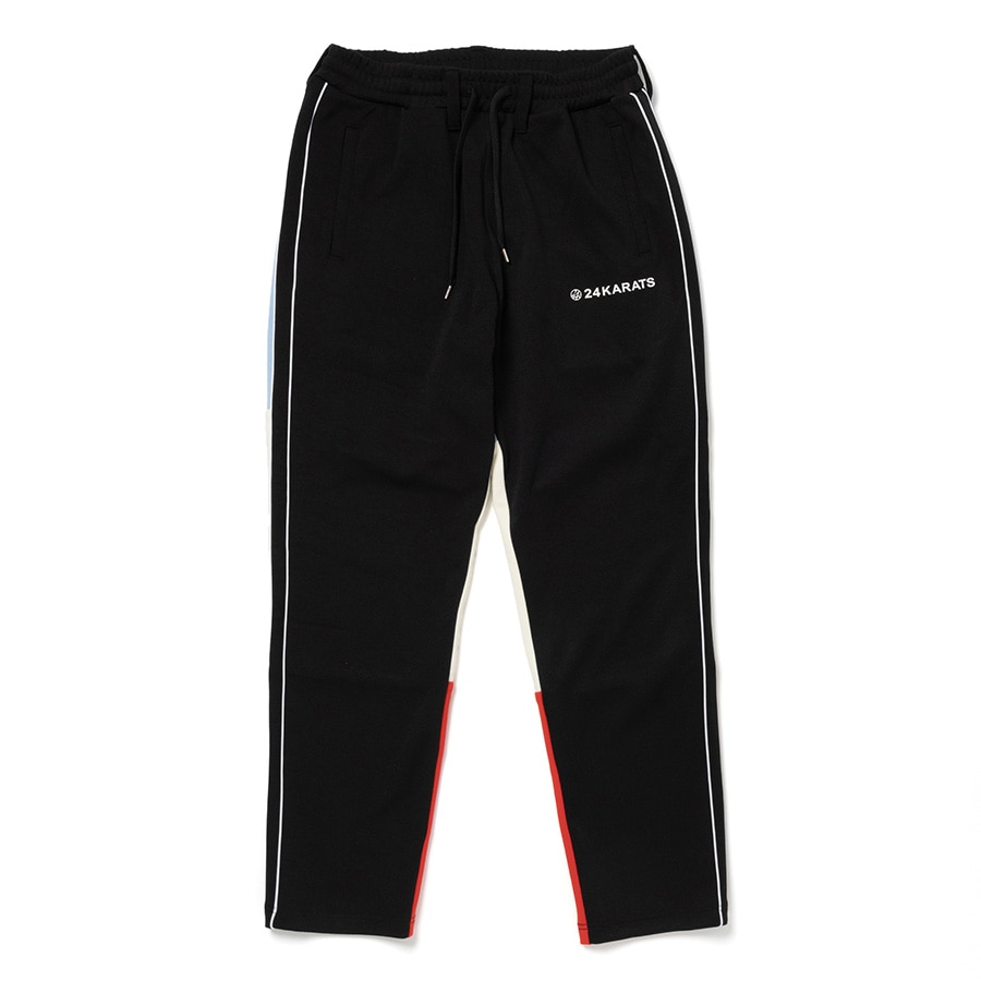Two Faced Track Pants 詳細画像 Black 1